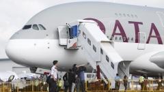 Катарските авиолинии дадоха началото на най-дългия полет в света