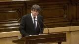 Пучдемон: Каталуния ще бъде независима, но ще преговаря