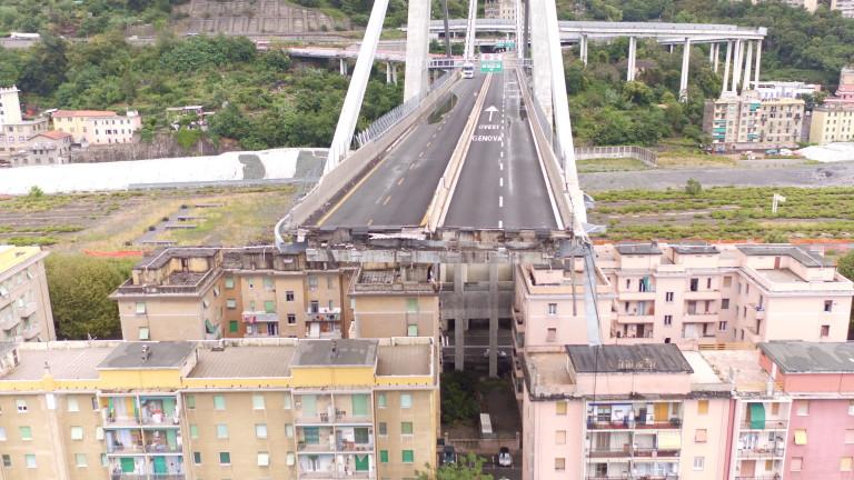 """Причините за """"Рухването на моста в Генуа"""""""