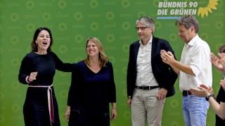 Зелените в Германия дишат във врата на канцлера Меркел