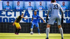 Феновете подкрепиха футболистите на Левски със специален транспарант