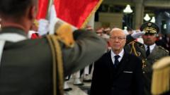 Първият демократично избран президент на Тунис положи клетва