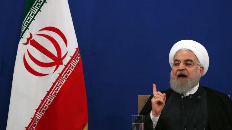 Президентът на Иран Хасан Рохани заяви на пресконференция в Техеран,