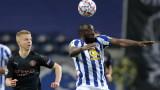 Порто и Манчестър Сити завършиха 0:0 в Шампионската лига