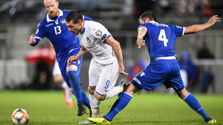 Италия очаквано се разправи с Лихтенщайн в мач от група