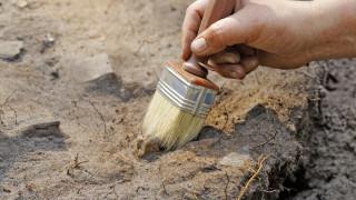 Откриха стъпки на 13 000 години