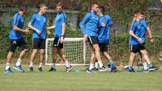 Левски показа кадри от тренировката си в Банско