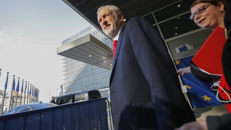 Корбин не изключва втори референдум за Брекзит