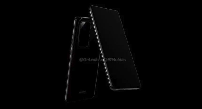 Първи изтекли в мрежата кадри на Huawei P40