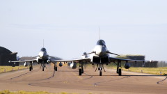 Британските ВВС се разполагат в Румъния, демонстрират подкрепа и решителност