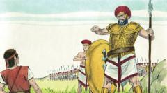 Пруският крал с армията от гиганти