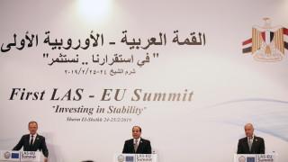 Президентът на Египет: Европа не може да ни учи на човешки права