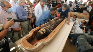 В Египет откриха 59 саркофага от преди повече от 2500 г.