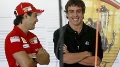 Шефът на Ферари: Само Маса е по-бърз от Алонсо