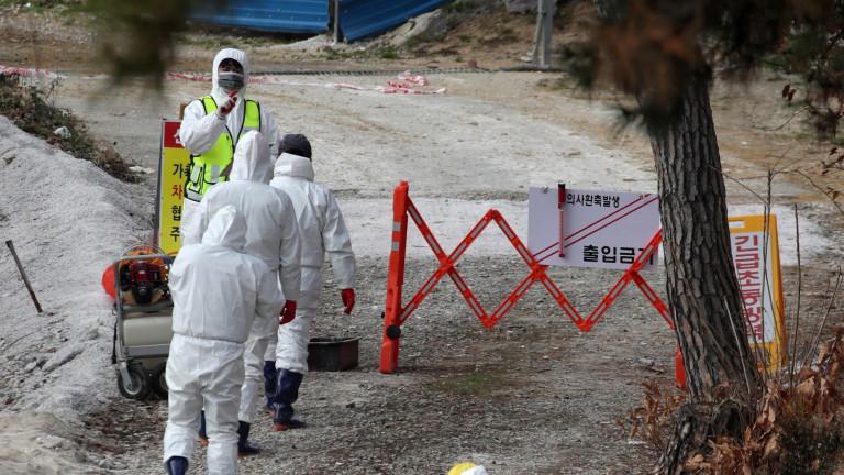Коронавирус: Южна Корея с най-много случаи от началото на епидемията