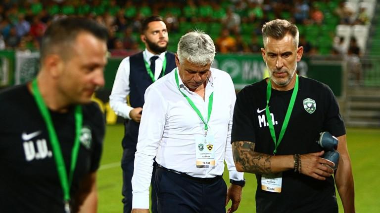 Стойчо Стоев остана доволен от играта на Лудогорец, но очаквано