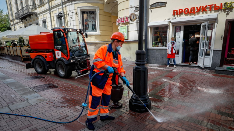 Москва с най-много случаи на коронавирус от юни