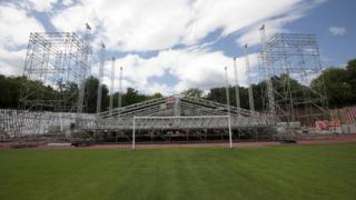 ЦСКА бавят наема за стадиона за Sofia Rocks