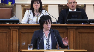 Борисов поискал от Нинова да му остави Деница Златева