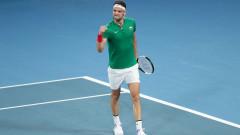 Григор Димитров с участие на демонстративен турнир преди Australian Open