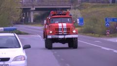 Джипът, с който избягаха обирджиите на инкасото в Перник, намерен изгорял