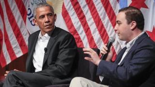 Гражданската ангажираност, а не политиката обсъжда Обама в Чикагския университет