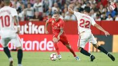 Севиля - Реал (Мадрид), 3:0 (Развой на срещата по минути)