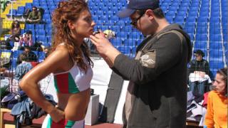 Лалова с трофей на МОК