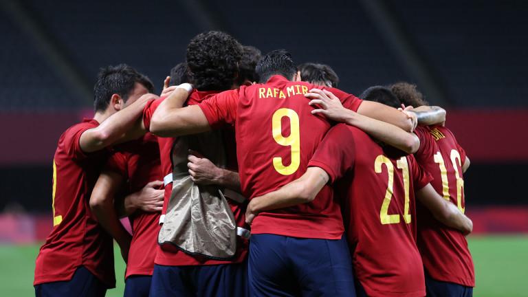 Късен гол донесе първи успех на Испания в Токио