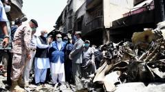 Човешка грешка зад катастрофата на самолета в Пакистан, отнела живота на 97 души