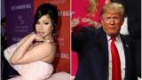Cardi B, Доналд Тръмп и нови нападки на певицата към американския президент