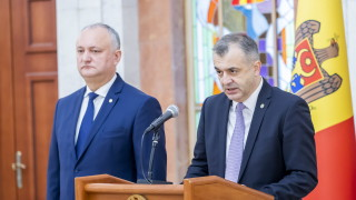 Премиерът на Молдова изненадващо хвърли оставка