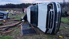 Най-малко 11 жертви на бури в САЩ