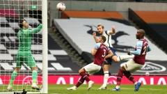 Невероятно: Тотнъм пропиля аванс от 3 гола срещу Уест Хем, неуспешен повторен дебют за Бейл