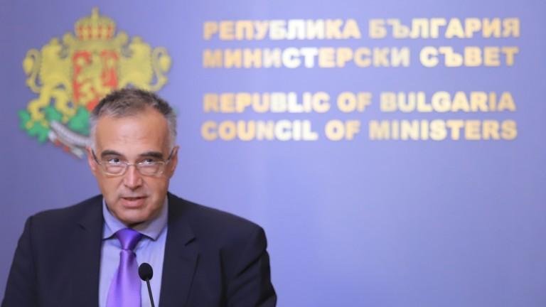 Говорителят на служебния кабинет Антон Кутев коментира казуса с .