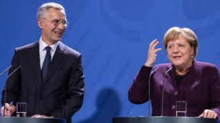 Меркел не е съгласна с Макрон за НАТО