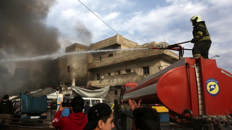 Интензивни боеве между проправителствените сили и джихадисти в сирийската провинция