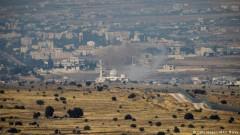 Сили на Асад отново стреляха срещу Израел, последва ответен огън
