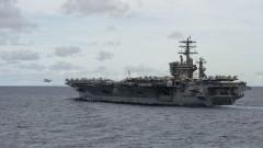 САЩ отмениха решението си - самолетоносач остава в Персийския залив заради Иран