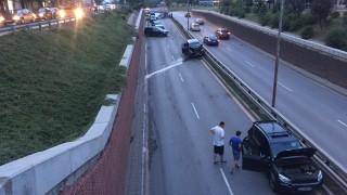 Верижна катастрофа с 9 коли в столицата, трима са пострадали