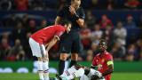 Манчестър Юнайтед - Базел 3:0: Погба излезе контузен, Фелайни, Лукаку  и Рашфорд вкараха