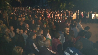Хиляди протестираха за пореден ден в Раднево