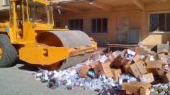 Над 10 хил. фалшиви парфюми и текстилни изделия унищожиха в Бургас