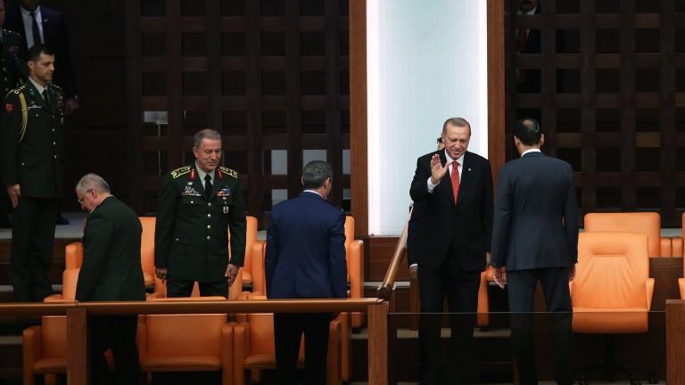 Президентът на Турция Реджеп Ердоган заяви, че през следващия месец