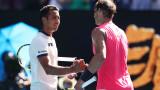 Уго Делиен: Благодарих на Надал за всичко, което е дал на тениса