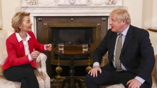 Фон дер Лайен и Джонсън правят равносметка на преговорите за Брекзит