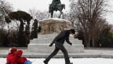 Мадрид се готви за снежна буря невиждана от десетилетия