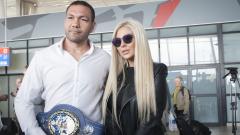 Андреа намекна за раздяла с Кубрат Пулев