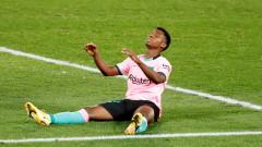 Голяма глупост в защита утежни ситуацията на Барселона в Ла Лига