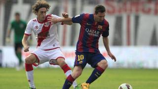 Барса няма да играе в испанското първенство при отцепване на Каталуния
